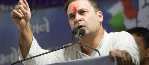 Rahul Gandhi says 60% of Modi's speech was about Congress, not ...(Image via NDTV)