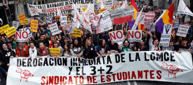 27 ciudades españolas le dicen no a la LOMCE