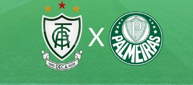 América-MG x Palmeiras ao vivo