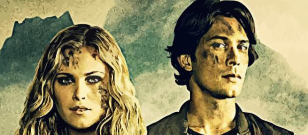 Clarke and Bellamy. [Image by thephoenixprod.deviantart.com]