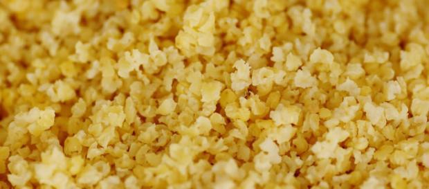 Es una mezcla de granos de diferentes tipos de trigo