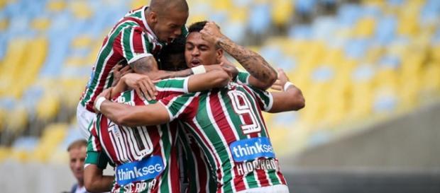 Fluminense já está na Bolívia para decidir vaga na Sul-Americana (Foto: Globoesporte)
