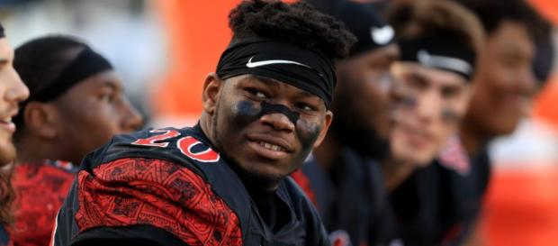 Seahawks considered taking Rashaad Penny without trading down Flickr