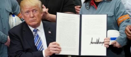 Trump est en permanence pour la protection des intérêts américains