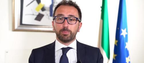 Alfonso Bonafede, nuovo ministro della Giustizia. Photo Credits: M5sParlamento via YouTube