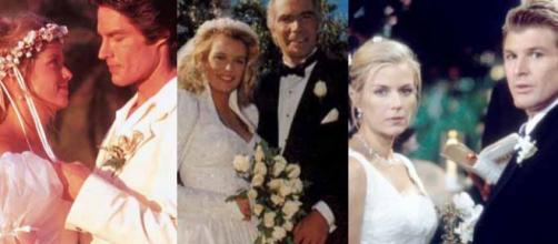 Brooke sposa Ridge per l'ottava volta.