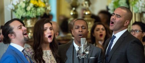 Cast members perform musical selections at the White House, 2016. - Amanda Lucidon, Wikipedia