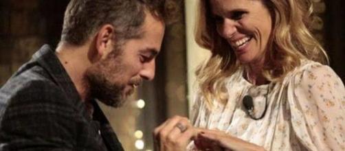 Daniele Bossari e Filippa Lagerback oggi sposi, il matrimonio