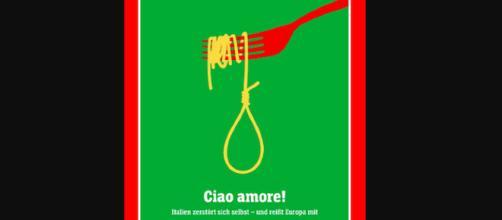 Der Spiegel spaghetto con cappio