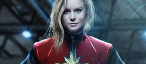 El disfraz de Capitán Marvel de Brie Larson ha sido revelado. - blastingnews.com