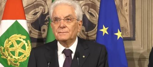 Il presidente della Repubblica, Sergio Mattarella