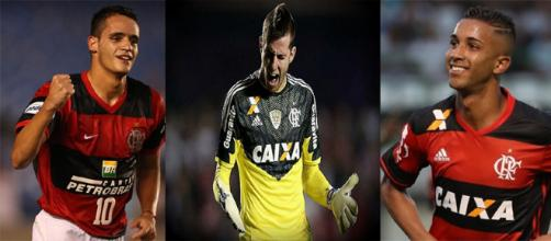 Jogadores podem render boa grana ao Flamengo