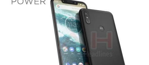 Motorola One Power con muesca de pantalla filtrada en imagen en vivo