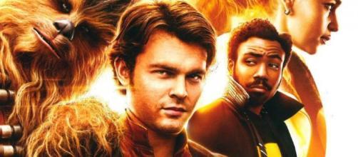 Poster Oficial de Han Solo par Rusia