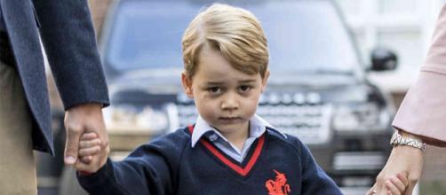 Primer día de escuela del príncipe George de Cambridge - semana.com