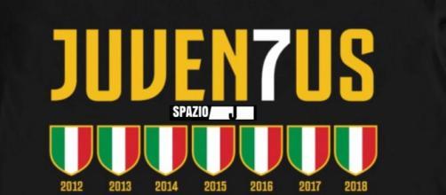 Sette scudetti consecutivi, un record per la Juventus