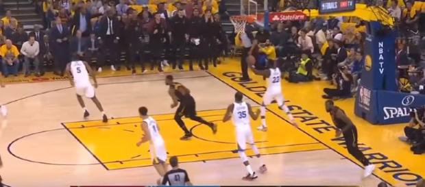 Cleveland Cavaliers vs Golden State Warriors 1st Half Highlights- Image credit MLG Highlights | YouTube