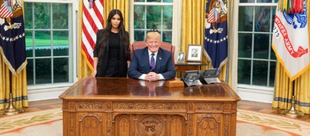 Donald Trump reçoit Kim Kardashian à la Maison Blanche