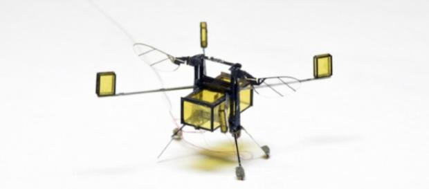 El despliegue de robots aéreos en áreas restringidas y abarrotadas