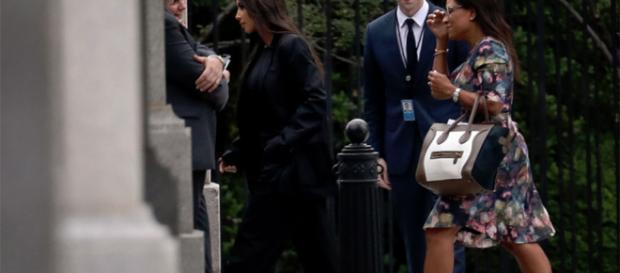 Kim Kardashian y Donald Trump se reúnen en la Casa Blanca