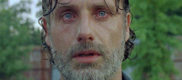 The Walking Dead escena icónica de Andrew