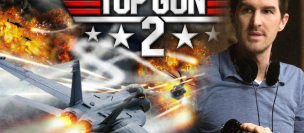 Top Gun 2 póster oficial de la secuela