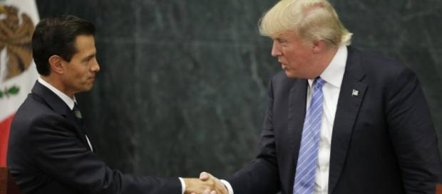 Trump y Peña Nieto buscan una difícil reconciliación en su primera ... - elpais.com
