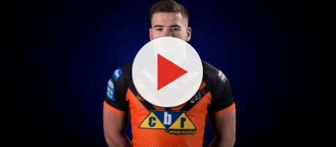 Academy player Calum Turner impressed greatly with his performance against Warrington. Image Source castlefordtigers.com