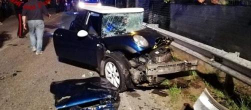 Incidente in Irpinia: un morto e 4 feriti