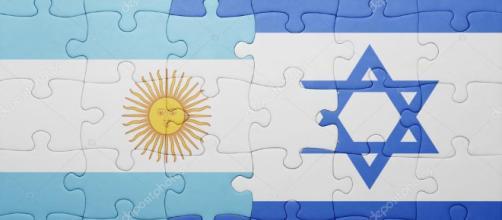 puzzle con la bandiera nazionale dell'Israele e argentina — Foto ... - depositphotos.com
