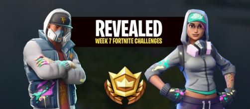 "Week 7 challenges for ""Fortnite Battle Royale"" have been revealed. Image Credit: Own work"