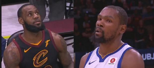 Kevin Durant may be considered the best player in the league, for now. - [Image via NBC / YouTube screencap]