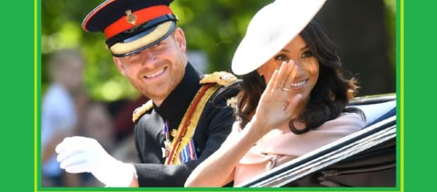 Prince Harry is seen by lip readers offering comfort to his wife. - [Image source: TV News 24H - YouTube screencap]