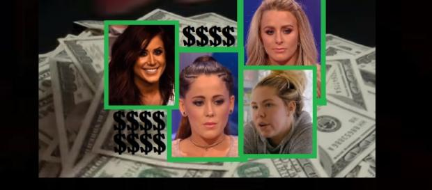 'Teen Mom' salaries revealed along with the crazy stuff they've spent it on. - [Photo: MTV, Carmen Miranda / YouTube Screenshots