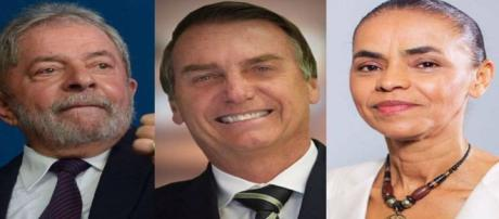 Bolsonaro seria derrotado por ambos no segundo turno.