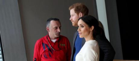 Prince Harry and Ms. Markle visit Titanic Belfast (Image credit – Northern Ireland Office, Wikimedia Commons)
