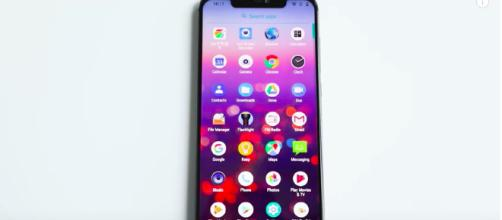 Color and design of the UMIDIGI Z2. [image source: UMIDIGI Mobile - YouTube]