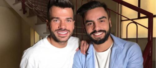 Claudio Sona e Mario Serpa, ex protagonisti di U&D