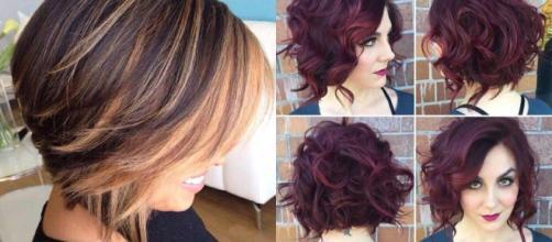 Nuovi tagli di capelli medi: look e la tonalità del ...