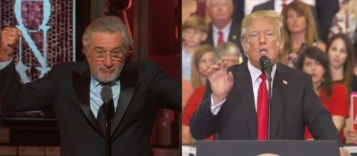 Robert De Niro, Donald Trump, via YouTube