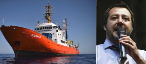 Salvini canta 'vittoria' per il caso della nave Aquarius