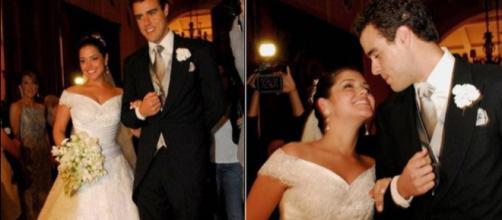Thais Fersoza e Joaquim Lopes protagonizam casamento relâmpago
