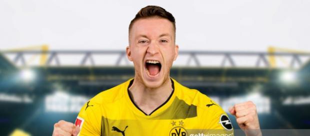 Marco Reus defensa de la selección alemana