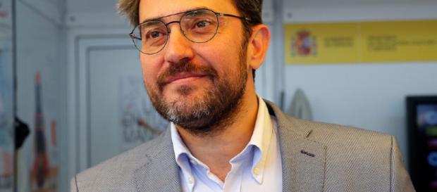 Màxim Huerta una semana solo de Ministro de Cultura