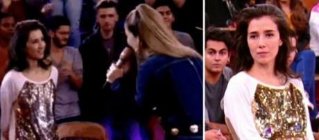 Internautas repercutiram reação de Marjorie Estiano diante da apresentação de Claudia Leitte (Foto: TV Globo)