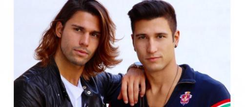 Luca Onestini e suo fratello Gianmarco