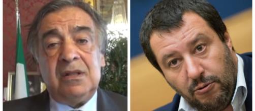 Il sindaco Orlando ironizza su Matteo Salvini