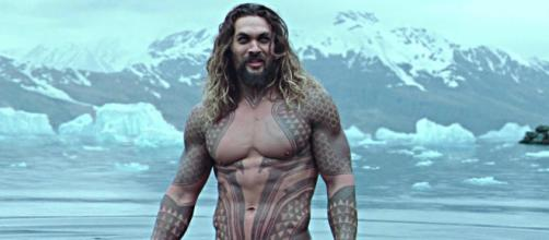 Jason Momoa will star as 'Aquaman' in the upcoming DC Comics-based solo superhero film. [Image via Warner Bros/YouTube]