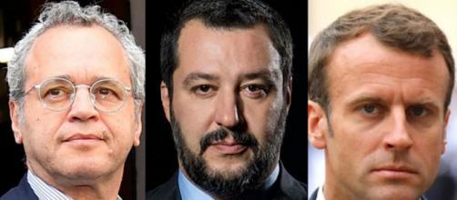 Mentana ha criticato le parole del Presidente francese contro il governo italiano