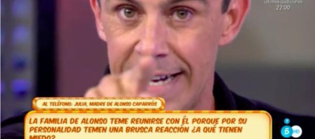 Alonso Caparrós abandona Sálvame